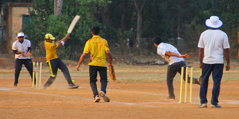 annual sport day- cricket- sixth energy
